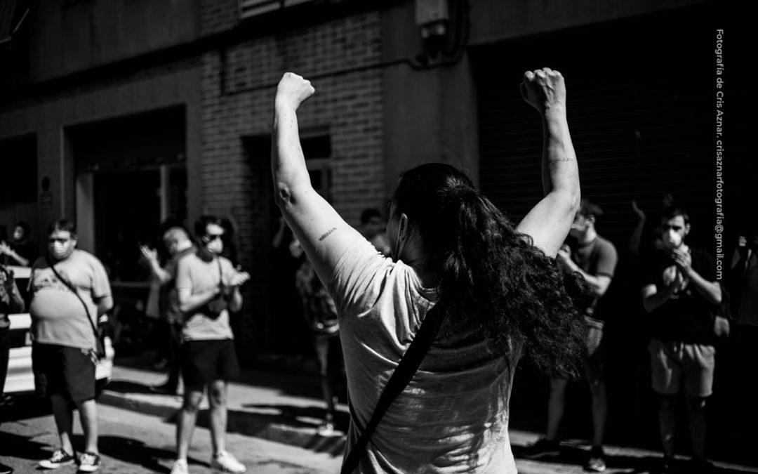 «Esperanza se queda» contado en fotografías