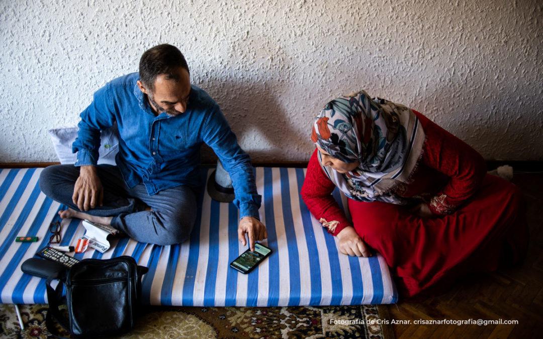 Husein y su familia, refugiados y desahuciados